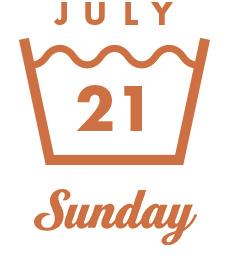 JULY21 Sunday