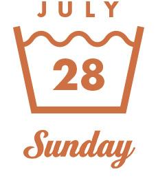 JULY28 Sunday