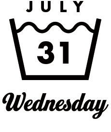 JULY31 Wednesday