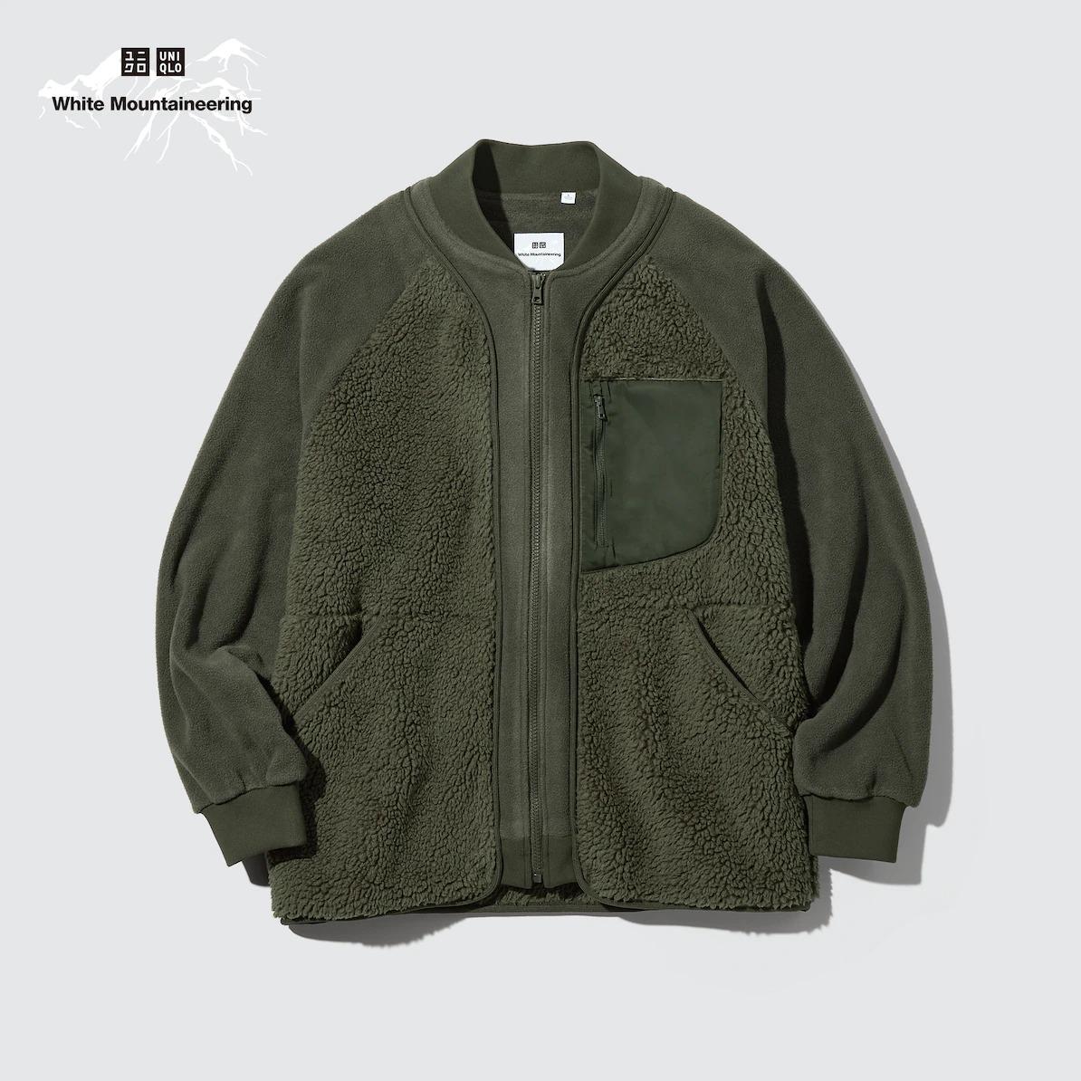 フリースオーバーサイズジャケット